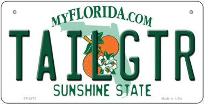 Tailgtr Florida Wholesale Novelty Metal Bicycle Plate BP-3674