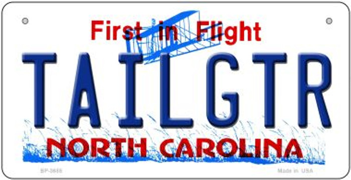 Tailgtr North Carolina Wholesale Novelty Metal Bicycle Plate BP-3685