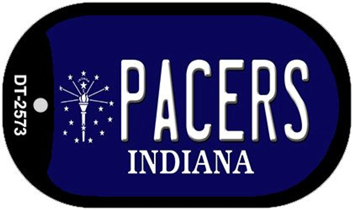Pacers Indiana Wholesale Novelty Metal Dog Tag Necklace DT-2573
