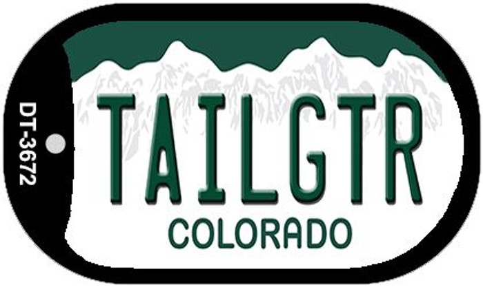 Tailgtr Colorado Wholesale Novelty Metal Dog Tag Necklace DT-3672