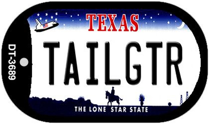 Tailgtr Texas Wholesale Novelty Metal Dog Tag Necklace DT-3689