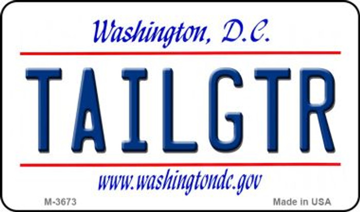 Tailgtr Washington DC Wholesale Novelty Metal Magnet M-3673