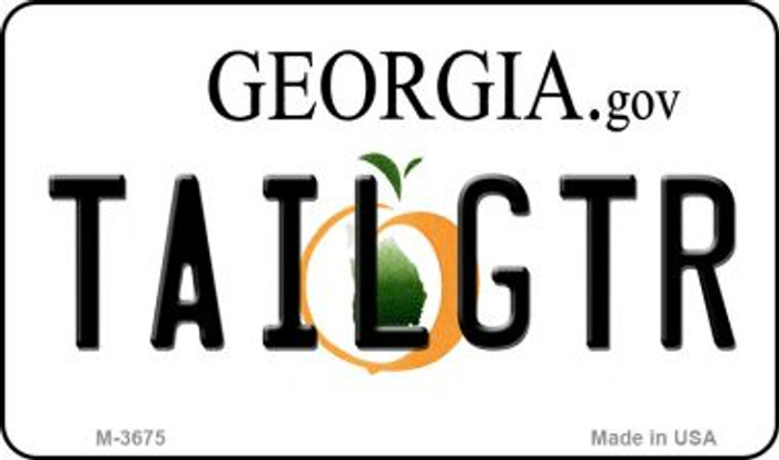 Tailgtr Georgia Wholesale Novelty Metal Magnet M-3675