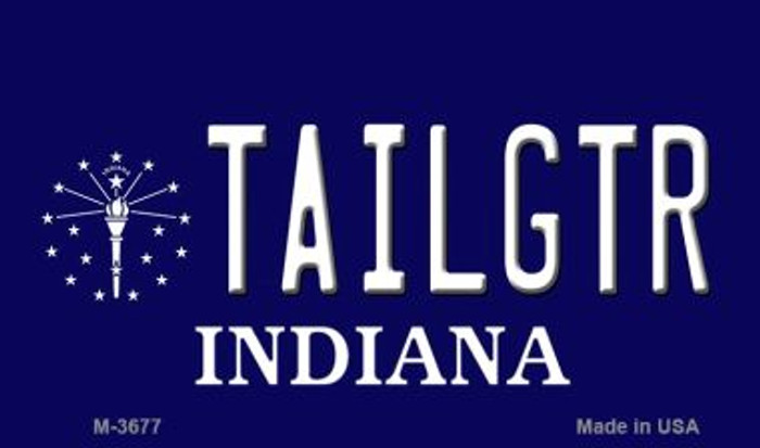 Tailgtr Indiana Wholesale Novelty Metal Magnet M-3677