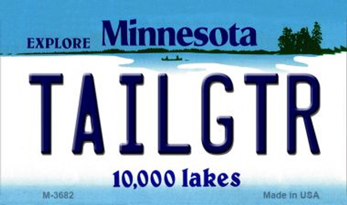 Tailgtr Minnesota Wholesale Novelty Metal Magnet M-3682
