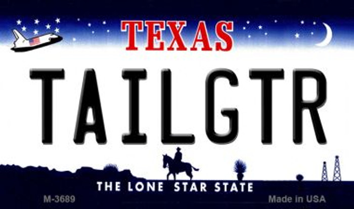 Tailgtr Texas Wholesale Novelty Metal Magnet M-3689