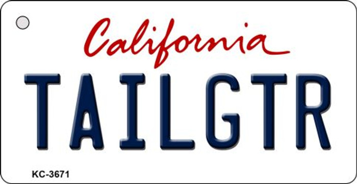 Tailgtr California Wholesale Novelty Metal Key Chain KC-3671
