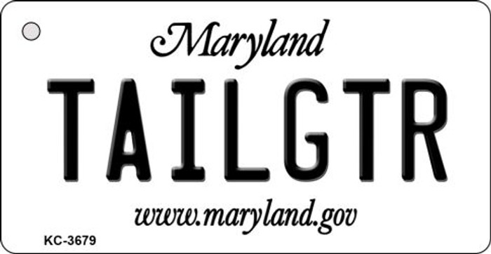 Tailgtr Maryland Wholesale Novelty Metal Key Chain KC-3679