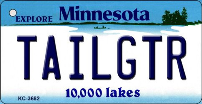 Tailgtr Minnesota Wholesale Novelty Metal Key Chain KC-3682