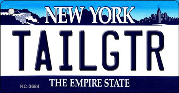 Tailgtr New York Wholesale Novelty Metal Key Chain KC-3684