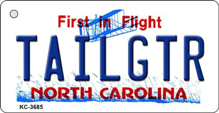 Tailgtr North Carolina Wholesale Novelty Metal Key Chain KC-3685