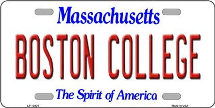 Boston College Wholesale Novelty Metal License Plate LP-12821