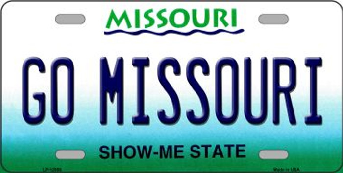Missouri Fan Wholesale Novelty Metal License Plate LP-12857