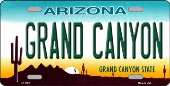 Grand Canyon Arizona Novelty Wholesale Metal License Plate