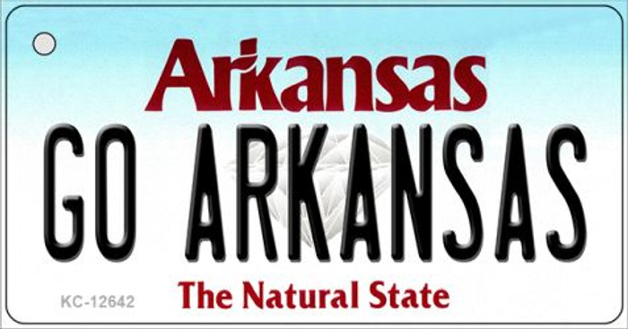 Go Arkansas Wholesale Novelty Metal Key Chain KC-12642