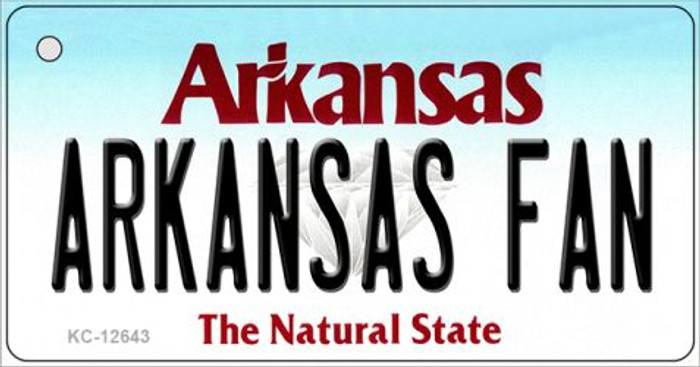 Arkansas Fan Wholesale Novelty Metal Key Chain KC-12643
