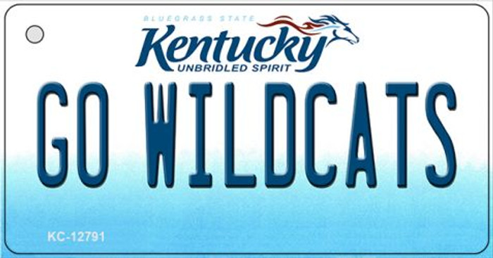 Go Wildcats Wholesale Novelty Metal Key Chain KC-12791