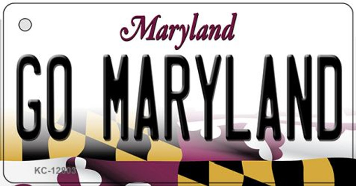 Go Maryland Wholesale Novelty Metal Key Chain KC-12803