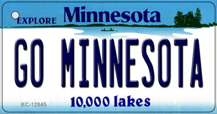 Go Minnesota Wholesale Novelty Metal Key Chain KC-12845