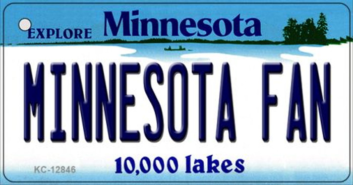 Minnesota Fan Wholesale Novelty Metal Key Chain KC-12846