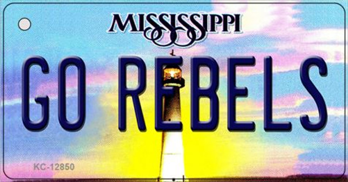Go Rebels Wholesale Novelty Metal Key Chain KC-12850