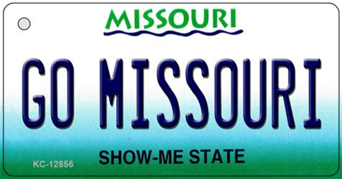Go Missouri Wholesale Novelty Metal Key Chain KC-12856