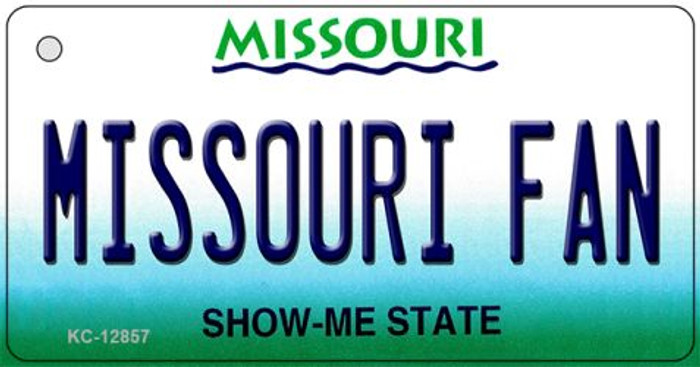 Missouri Fan Wholesale Novelty Metal Key Chain KC-12857