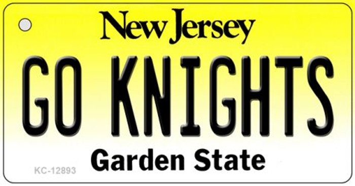 Go Knights Wholesale Novelty Metal Key Chain KC-12893