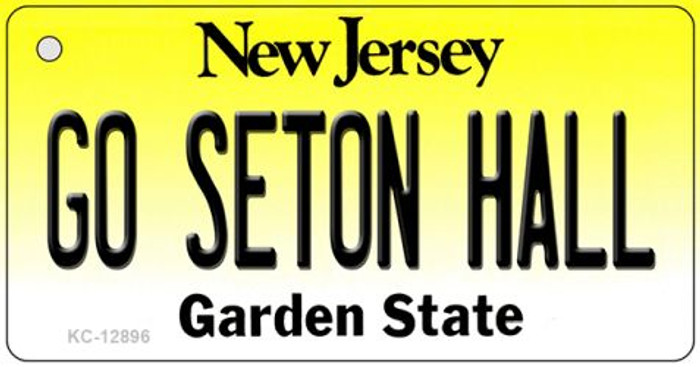 Go Seton Hall Wholesale Novelty Metal Key Chain KC-12896