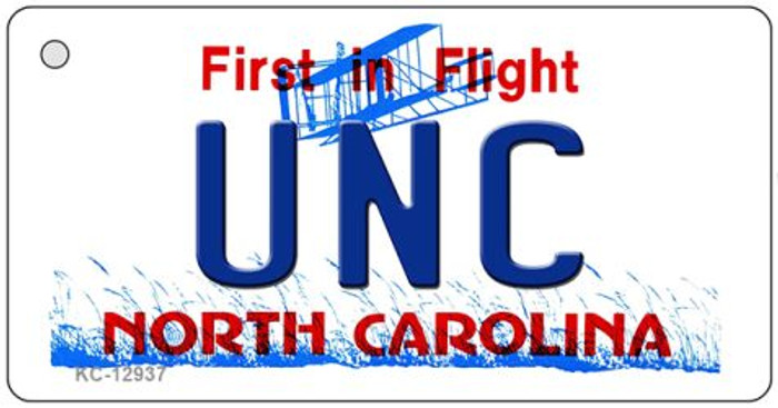 Univ North Carolina Wholesale Novelty Metal Key Chain KC-12937