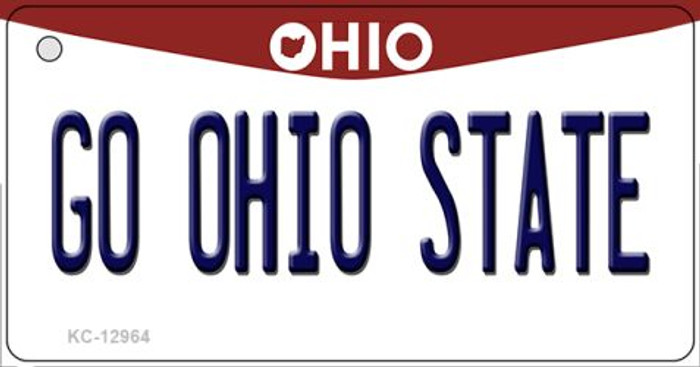 Go Ohio State Wholesale Novelty Metal Key Chain KC-12964