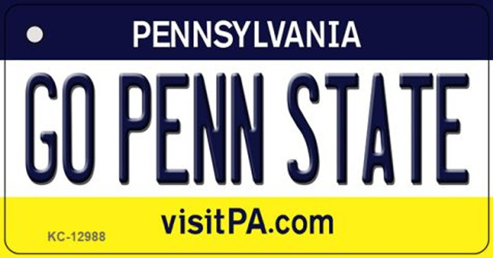 Go Penn State Wholesale Novelty Metal Key Chain KC-12988
