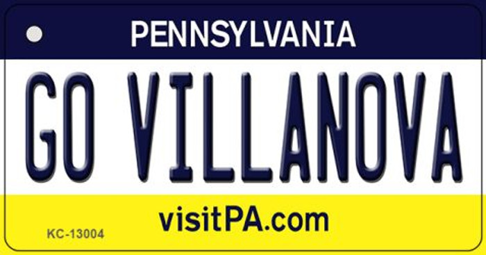 Go Villanova Wholesale Novelty Metal Key Chain KC-13004