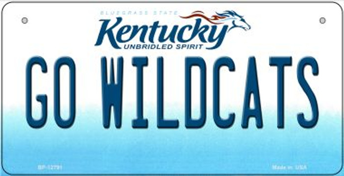 Go Wildcats Wholesale Novelty Metal Bicycle Plate BP-12791