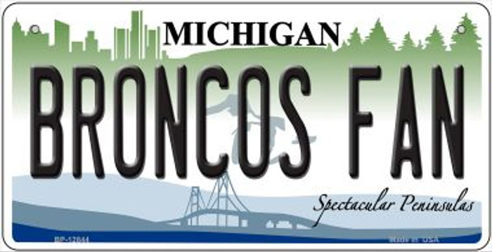 Broncos Fan Wholesale Novelty Metal Bicycle Plate BP-12844