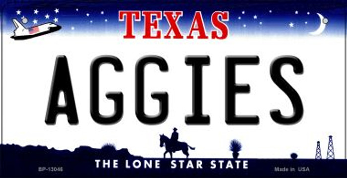 Aggies Wholesale Novelty Metal Bicycle Plate BP-13046