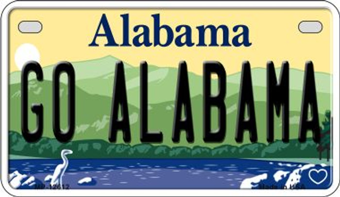 Go Alabama Wholesale Novelty Metal Motorcycle Plate MP-12612