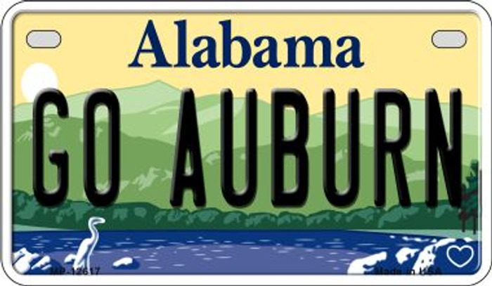 Go Auburn Wholesale Novelty Metal Motorcycle Plate MP-12617