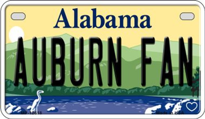 Auburn Fan Wholesale Novelty Metal Motorcycle Plate MP-12618