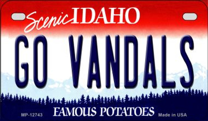 Go Vandals Wholesale Novelty Metal Motorcycle Plate MP-12743