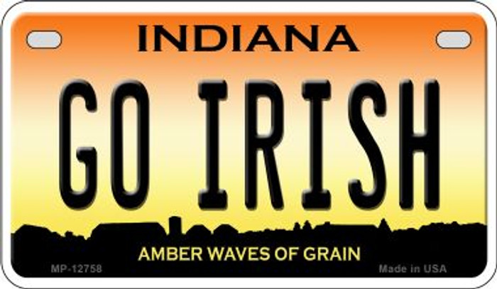 Go Irish Wholesale Novelty Metal Motorcycle Plate MP-12758