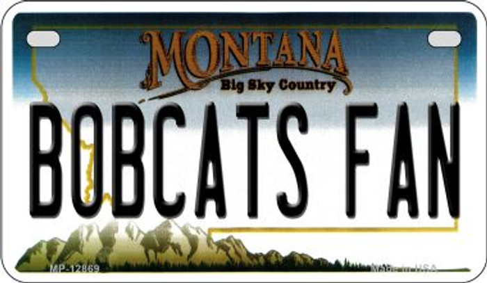 Bobcats Fan Wholesale Novelty Metal Motorcycle Plate MP-12869