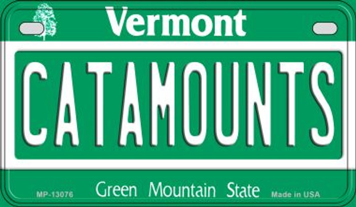 Catamounts Wholesale Novelty Metal Motorcycle Plate MP-13076