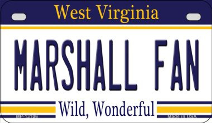 Marshall Fan Wholesale Novelty Metal Motorcycle Plate MP-13106