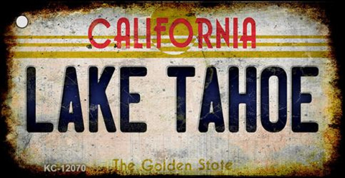 California Lake Tahoe Wholesale Novelty Metal Key Chain KC-12070