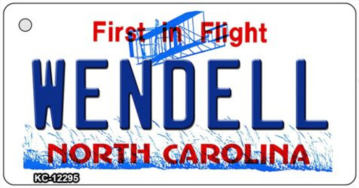North Carolina Wendell Wholesale Novelty Metal Key Chain KC-12295