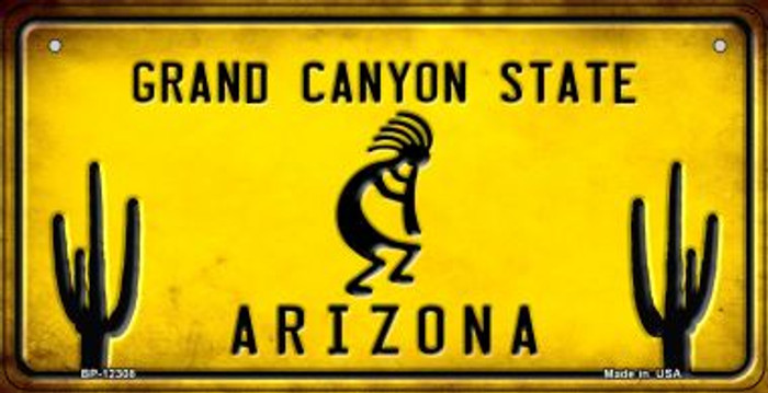 Arizona Kokopelli Wholesale Novelty Metal Bicycle Plate BP-12308