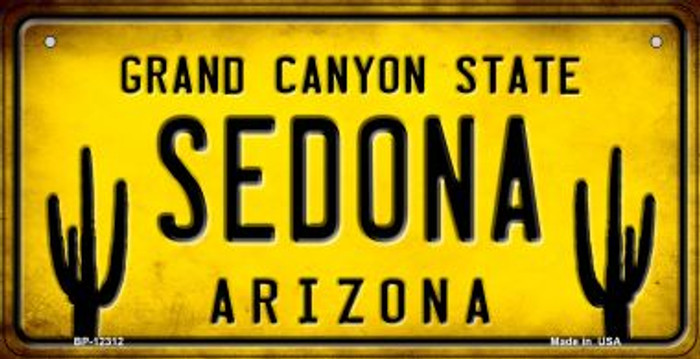 Arizona Sedona Wholesale Novelty Metal Bicycle Plate BP-12312