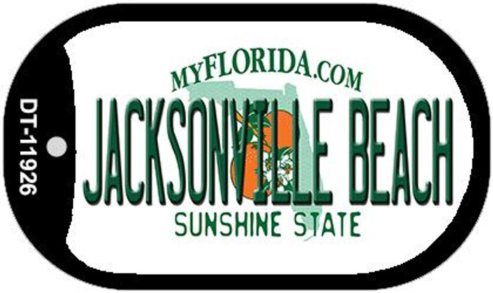 Florida Jacksonville Beach Wholesale Novelty Metal Dog Tag Necklace DT-11926