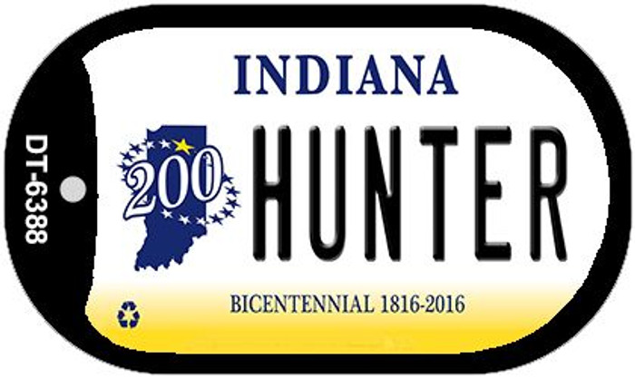 Indiana Hunter Wholesale Novelty Metal Dog Tag Necklace DT-6388
